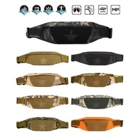 teenager outdoor sports running cycling waist bag pack male fashion shoulder belt bag travel phone pouch bags