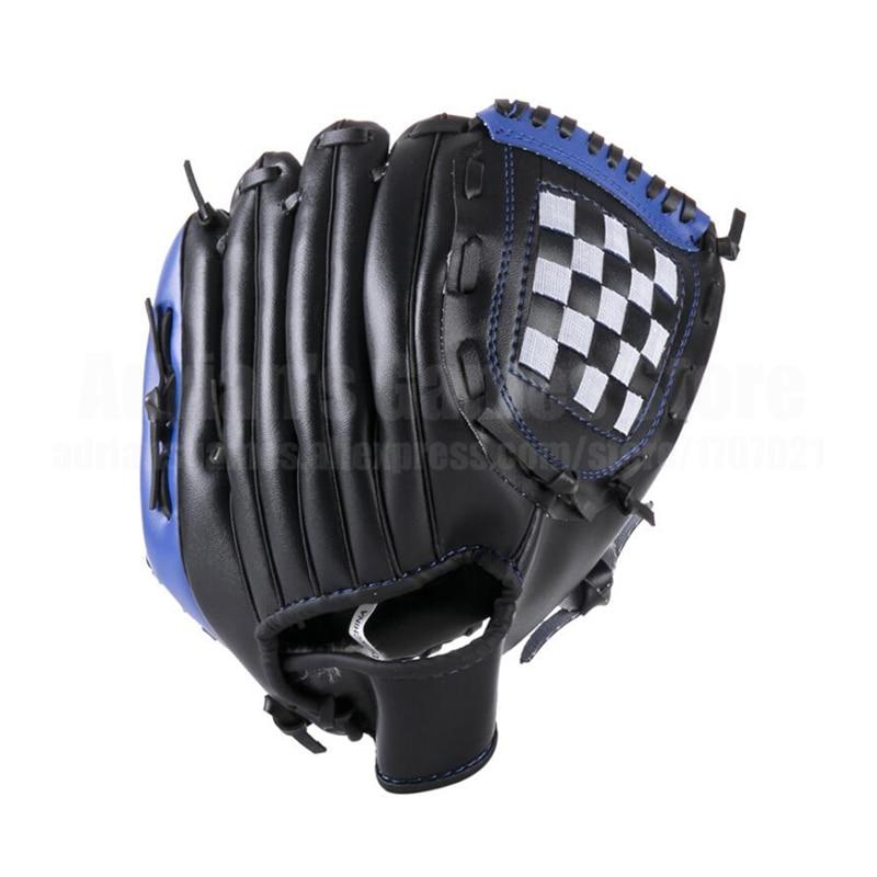 Взрослые бейсбольные перчатки 3 цвета толстые кожаные перчатки бейсбольные перчатки возраст 16 +