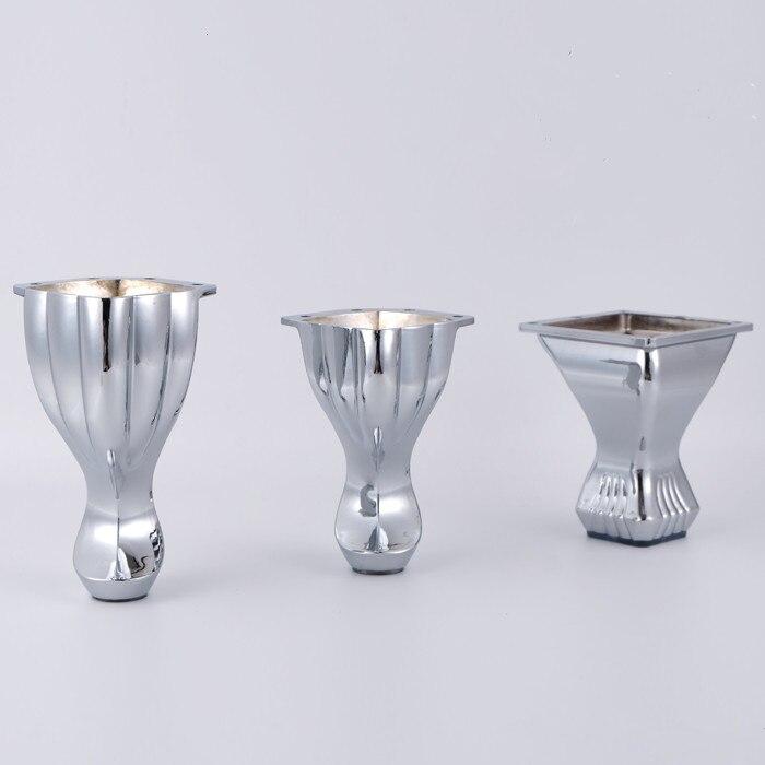 Patas de Metal europeo para muebles de TV, muebles, sillas, sofá, mesa, pie, soporte, manualidades DIY, herrajes para muebles