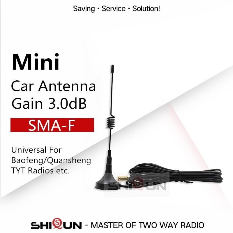 UT 108UV мини Автомобильная антенна для BF 888S UV 82 H777, UV 5R Quansheng, Автомобильная рация, UHF антенна UV 9R antenna for portable radio antenna baofengbaofeng accessories   АлиЭкспресс