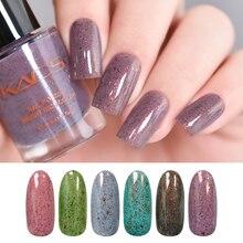 KADS esmalte de uñas Flakie lentejuelas esmalte pintado manicura holográfica barniz brillante laca Mica herramienta de esmalte de uñas