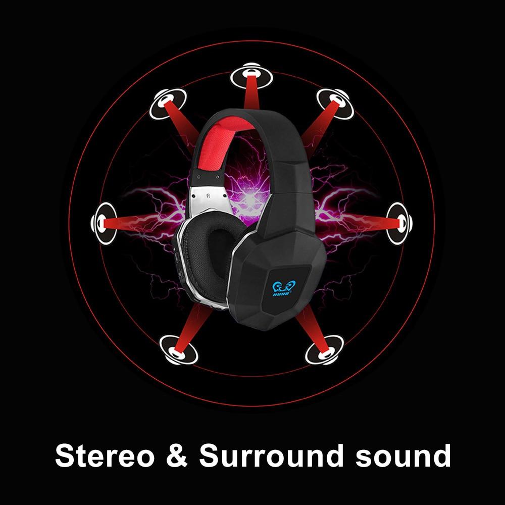 Auriculares inalámbricos USB7.1 para juegos, auriculares para jugadores, auriculares estéreo con sonido envolvente 7,1, micrófono USB para videojuegos, videojuegos, PS4, PC, Gamer