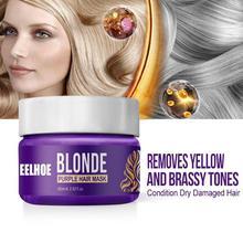 60Ml Shampoo Lila Shampoo Toner Entfernen Gelb Anti Brassy Farbe Schützen für Silber Blonde Gebleichte Grau Haar Farbstoff