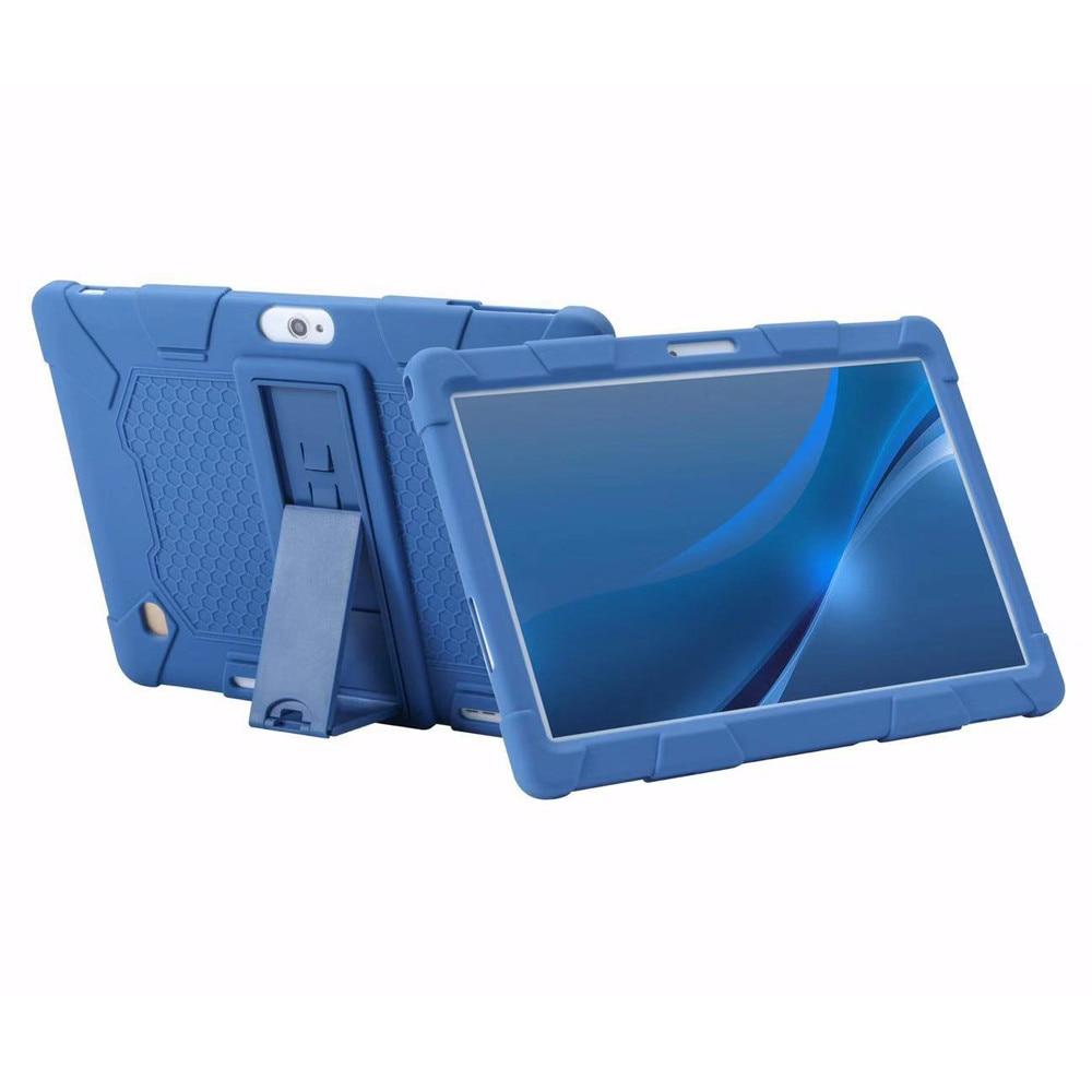 Carcasa protectora para Prestigio Multipad Grace 5771 5791 7781 3301 3201 3101 4G 10,1 pulgadas funda para tablet funda trasera de silicona + pluma