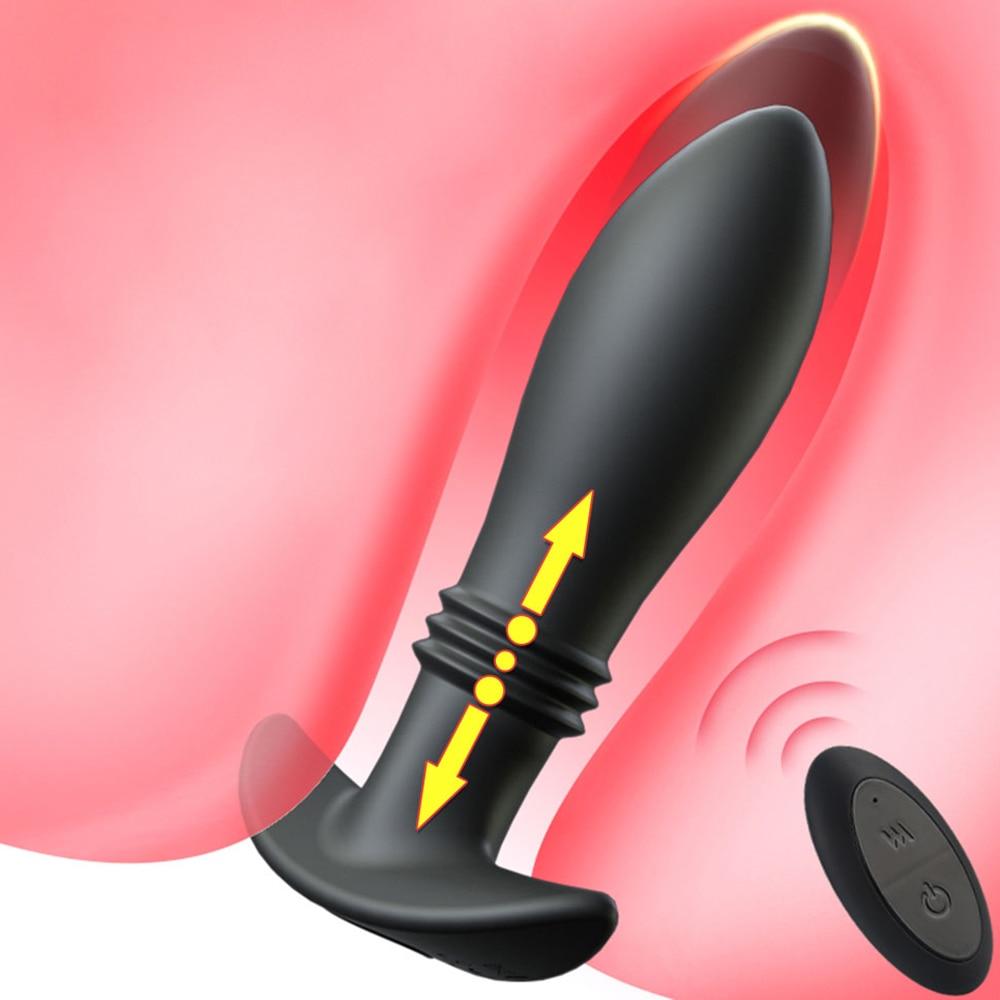 لاسلكي الشرج هزاز للنساء الرجال تمتد جهاز تدليك للبروستاتا التحكم عن بعد المكونات الشرج السلع الحميمة الجنس لعب للكبار مثلي الجنس