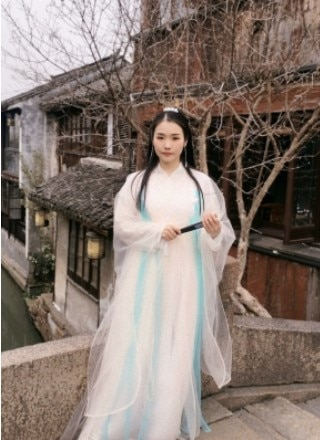 Baiqian costumes for women hanfu clothing antique fairy clothes princess dress halloween carnival costumes