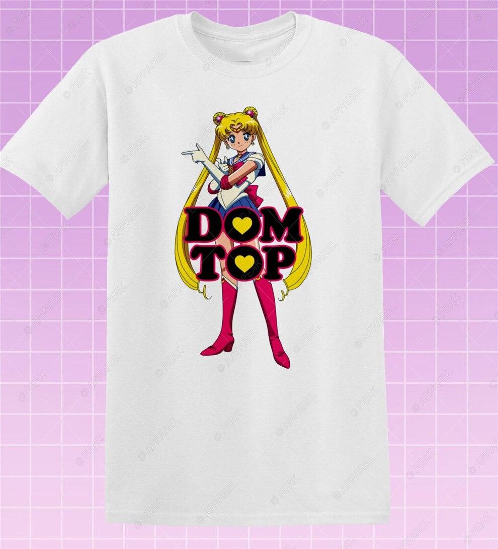 Camiseta Dom Top Sailor Cute Pride Gay Hot Moon Retro Lgbt Masc Queen Homo, camiseta para jóvenes de mediana edad
