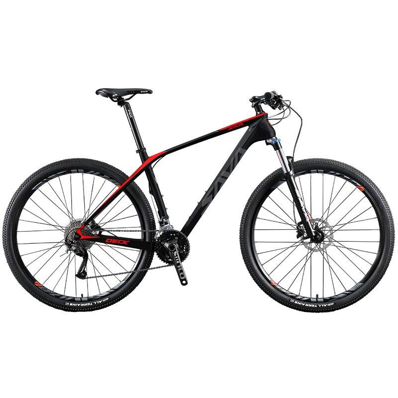 Bicicleta de Montaña de carbono para hombre, 29/27,5/26 pulgadas, con SHIMANO 27,...