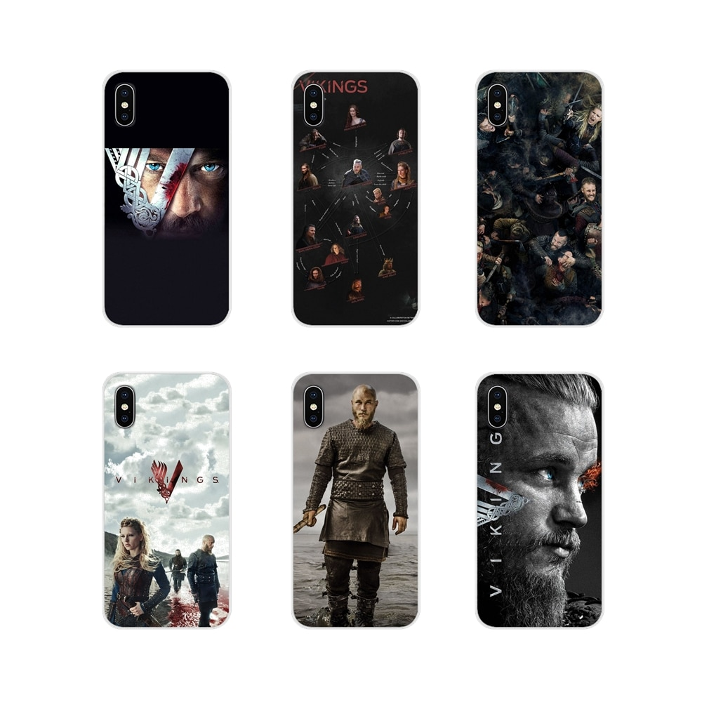 Para Xiaomi Redmi 4A S2 nota 3S 3S 4 4X 5 Plus 6 7 6A Pro teléfono móvil F1 funda de teléfono móvil con bolsa Ragnar Lothbrok vikingos Bling Popular