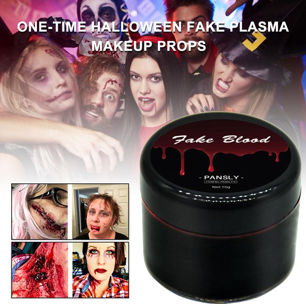 Halloween Ultra-realista falsa sangre cara pintura del cuerpo cicatrices Zombie maquillaje no tóxico falso Partido de Plasma vampiro decoraciones