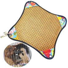 Kapmore 1pc Hamster Hammock Hanging Heatstroke Prevention Cool Pet Pad Pet Cage Hammock Pet Supplies Random Color