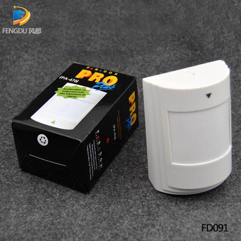 Capteur PIR filaire unique   Pour système dalarme, détecteur de mouvement infrarouge filaire, fonctionne avec panneau dalarme, livraison gratuite, nouveau