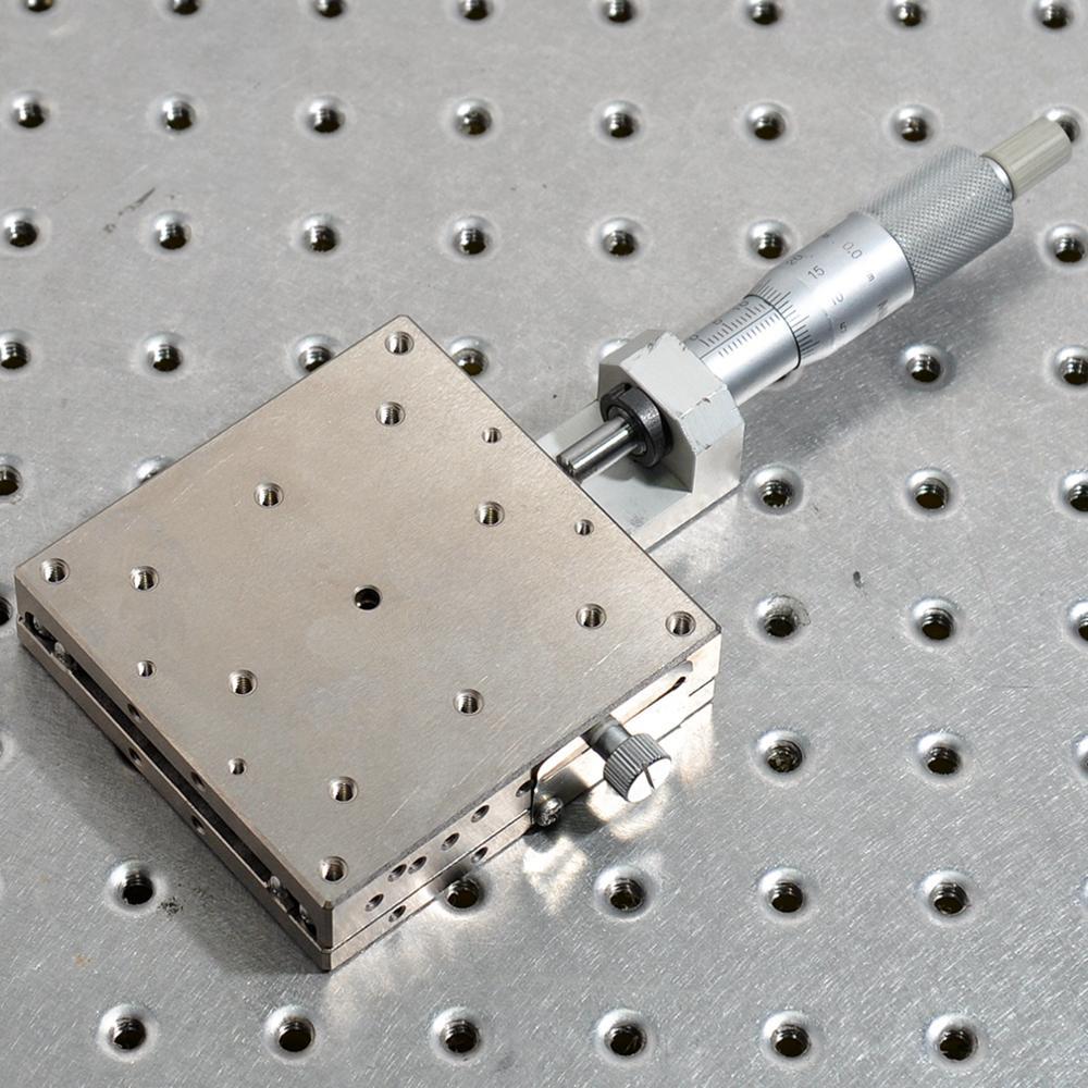 SURUGA BSS16-80AR translation adjustment table manual high precision fine adjustment displacement sliding table stainless steel enlarge