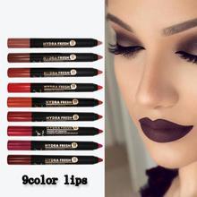 9 Colors Velvet Matte Lipsticks Lip Liner Waterproof Long Lasting Mist Sexy Red Lip Stick Non-Stick