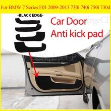 Tür anti-kick pad tür schutz pad tür panel abdeckung pad auto tür aufkleber Für BMW 7 Serie F01 2009-2013 730i 740i 750i 730d