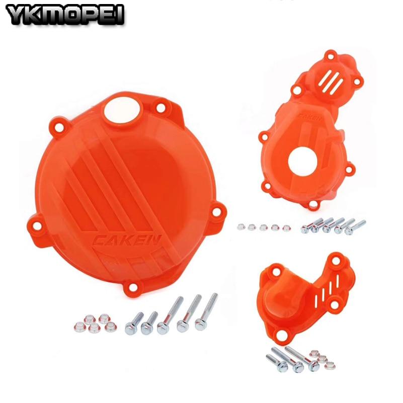 Embrague guardia tapa de la bomba de agua encendido Protector para KTM SXF EXC-F XCF 250 de 350 seis días de 4 tiempos MX Motocross Enduro de la motocicleta