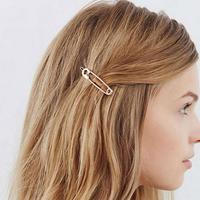 Fashion Kids Women Luxury Retro Pin Hairpin Hair Claw Clamps Bridesmaid Bang Clip Hair Accessories