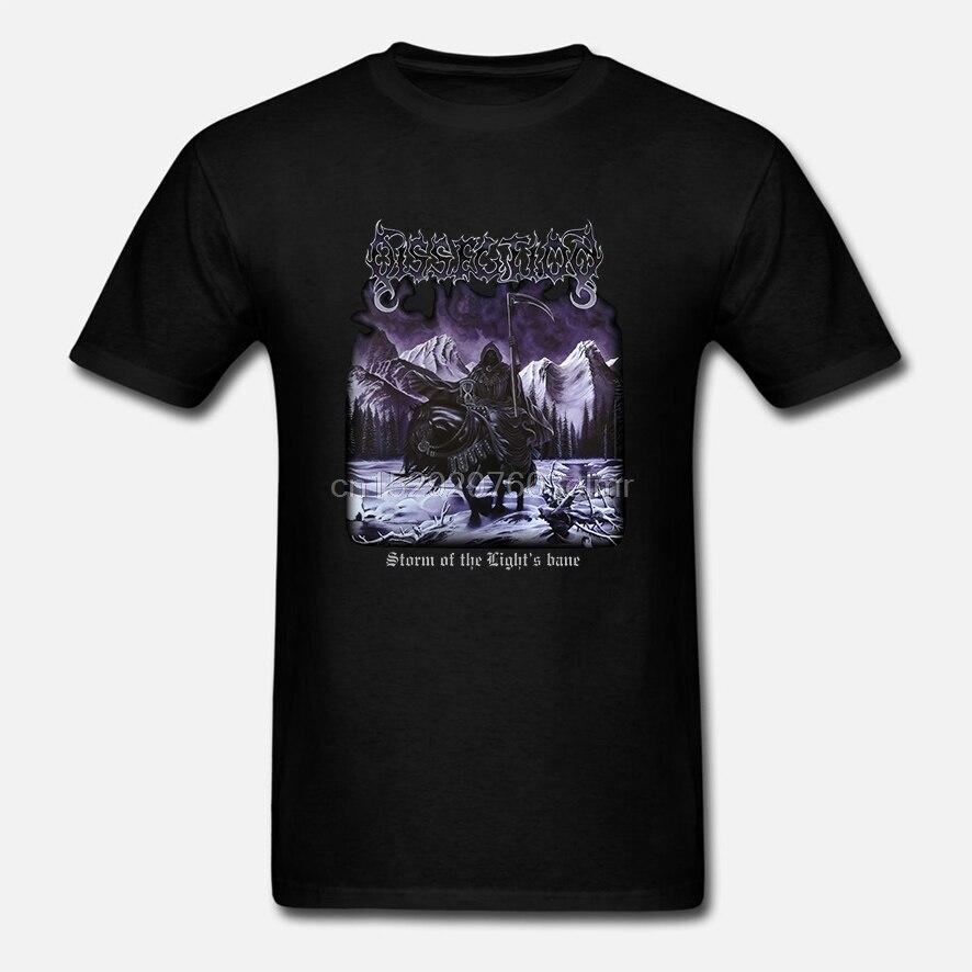 Camiseta de dos lados de la banda de Metal de la disección nueva camiseta de los hombres (2)