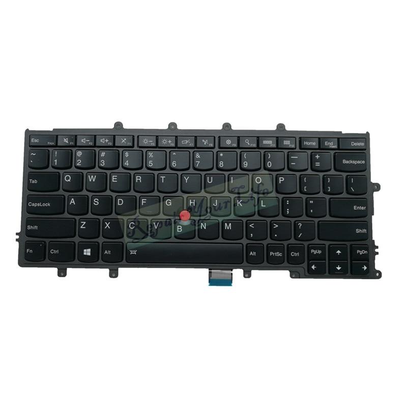 Teclado do portátil versão dos eua para lenovo x240 x230s x240s x250 x260 x270 x240 SG-55910-XUA sn1361bl teclas retroiluminadas preto interno