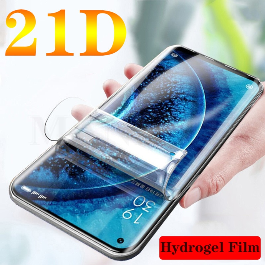 Ultra Silicone Hydrogel Film For Google Pixel 5 4 XL 3XL 4a 2XL 2 4xl Full Curved Cover TPU Front Screen Protector film No Glass