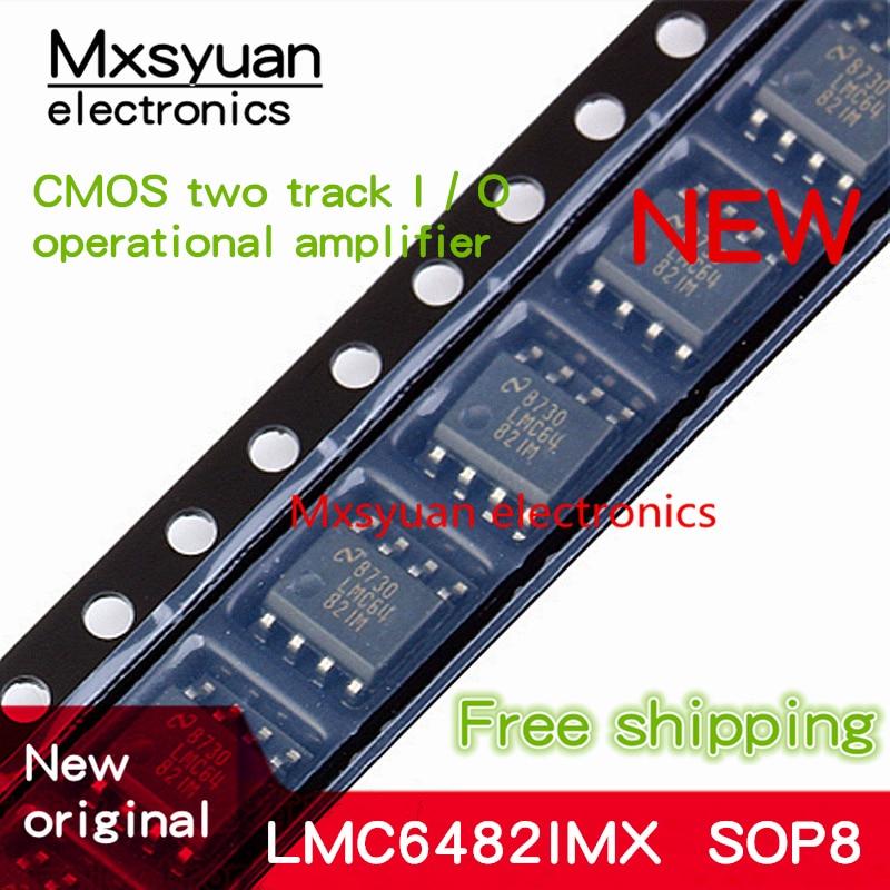 10PCS~100PCS/LOT LMC6482IMX LMC6482IM LMC64 82IM SOP8 New original In stock