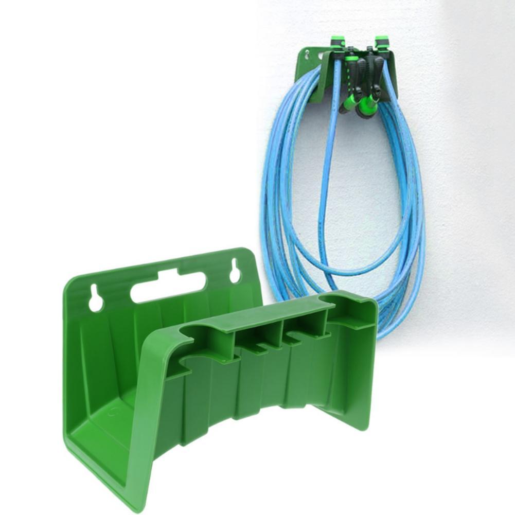 Wall Mounted Garden Hose Pipe Hanger Holder Storage Bracket Shed Fence Cable PP Hose Pipe Holder Home Gardening Tools