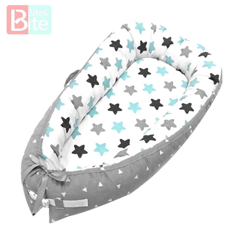 Портативная детская кроватка, съемные детские кроватки, бамперы, защита кровати, не съемные