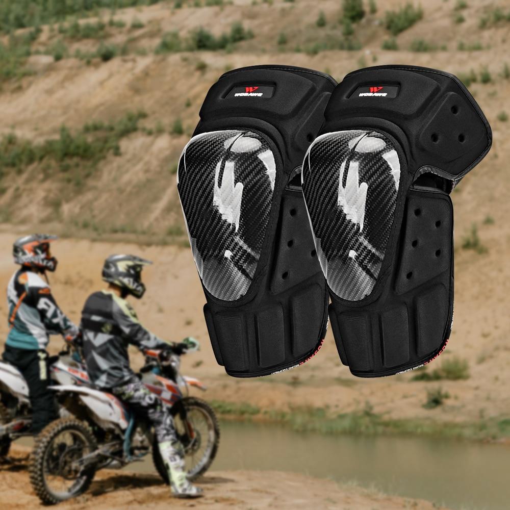WOSAWE Motorcycle Kneepads Racing Motocross Moto Knee Protection Motor Knee Pads MTB protection Knee Guard Protective Gear enlarge