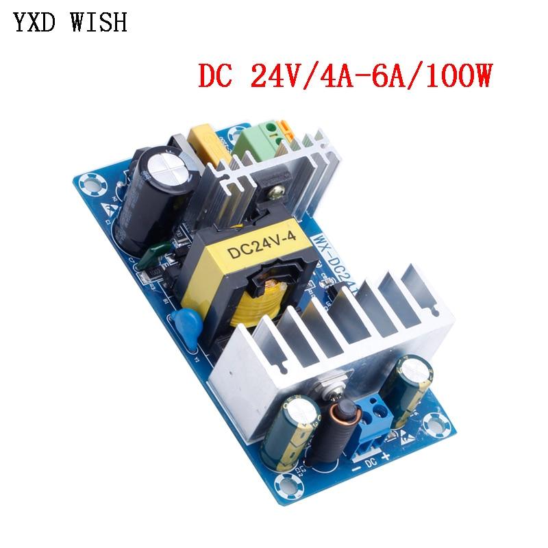 For Power Supply Module DC 24V 4A 6A to AC 110v 220v switching power supply module AC-DC Board 828 P