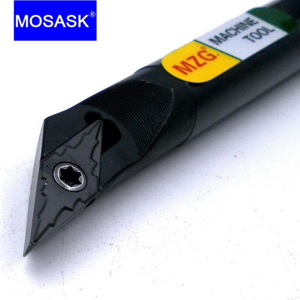 MOSASK SVXBR Holders 10 16 20 mm  Boring Shank Bar VBMT Blade Holder Machining CNC Lathe Inner Hole Turning Toolholders