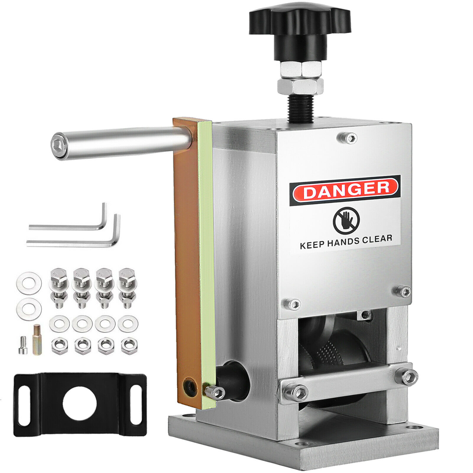 ManualWire تجريد آلة كرنك اليد ماكينة تجريد أسلاك مقشر كابل الخردة المعادن إعادة تدوير 1.5-25 مللي متر