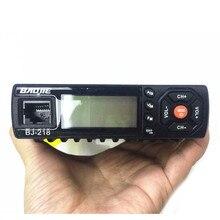 Mini estación de coche Baojie BJ-218 UV de doble segmento de dos protectores Estación de coche 25W power car walkie-talkie