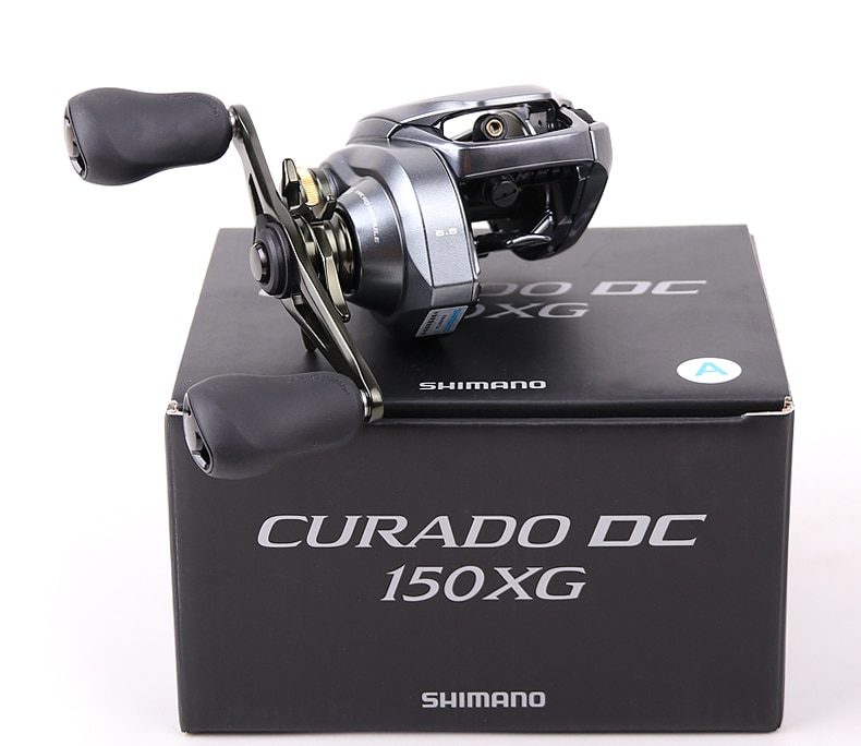 2018 nouveau SHIMANO CURADO DC 150 150hg 150xg 151 151hg 151xg moulinet de pêche baitcast à profil bas