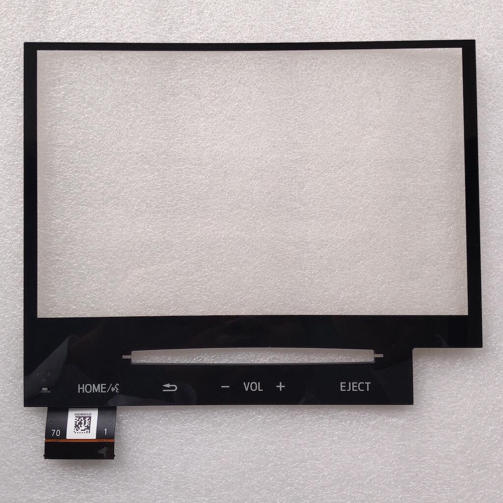 Origina 9 Inch 70 Pins Glass Touch Screen Panel For 21 Toyota Land Cruiser VXR 5.7P V8 Car DVD Audio Media Player GPS Navigation