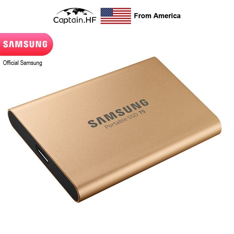 US Captain T5 Portable SSD 1TB USB 3.1 External SSD MU-PA1T0B/CN for Laptops, Notebooks, PC