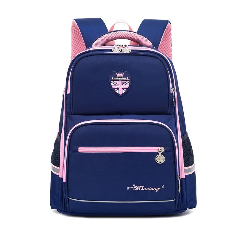 School Bags For Girls Boys Children's Backpack Primary School BookBag Student Kids Bags Orthopedic Waterproof Schoolbag Rucksack недорого