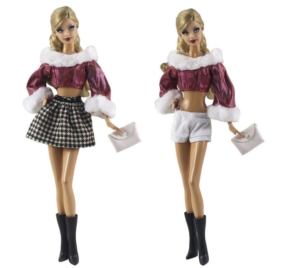 Conjunto de ropa Vintage para Barbie BJD FR ropa para muñeca SD,...