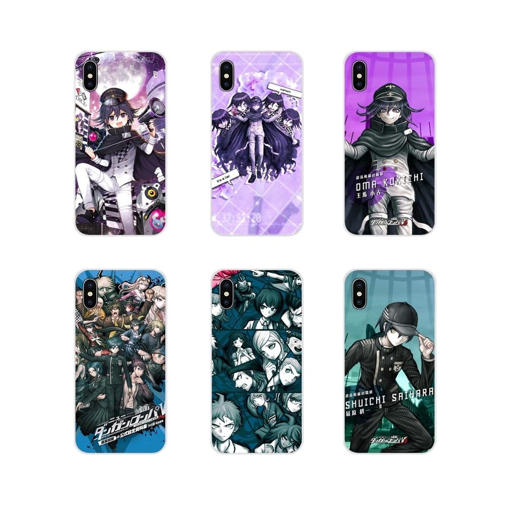 Danganronpa V3 accesorios de la cáscara del teléfono cubre para Xiaomi Mi4 Mi5 Mi5S Mi6 Mi A1 A2 5X 6X 8 9 Lite SE Pro Mi Max Mix 2 3 2S