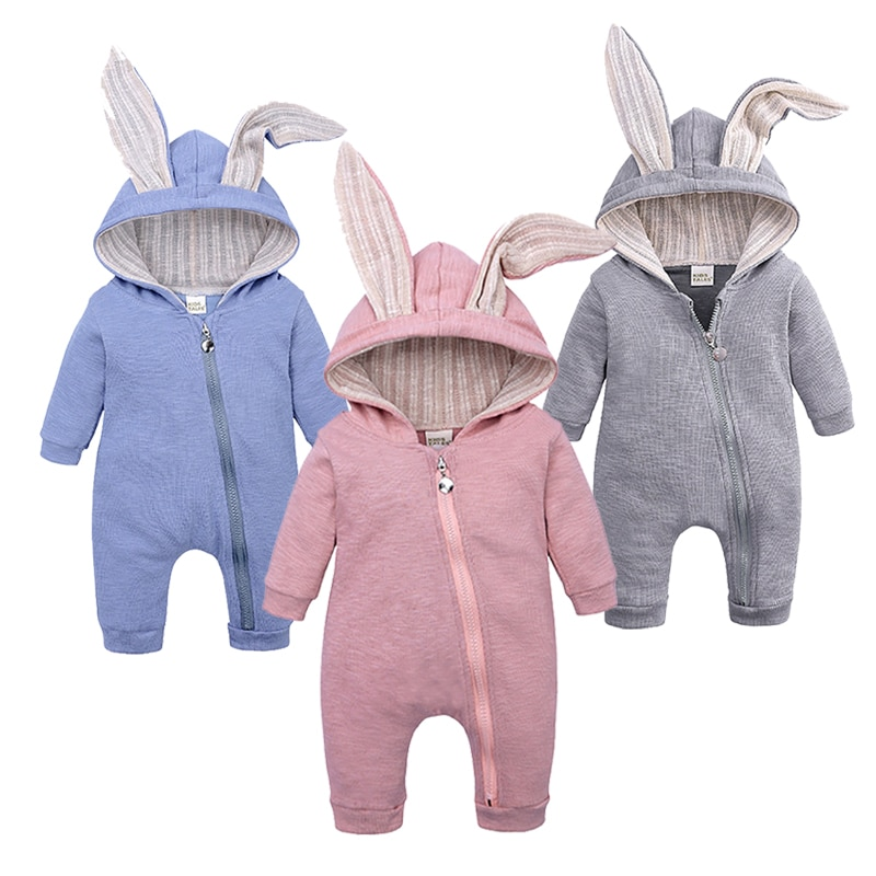Girls Clothing Warm Winter Infant Baby Romper Newborn Boys Overall Clothes Jumpsuit Bodysuit Cute Cartoon Outfit Costume Set