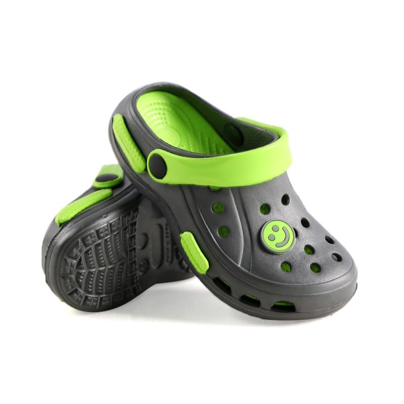 New Summer Boys Girls Cartoon Slippers Children's Aqua Sport Sandals Soft Non-slip Breathable Kids Outdoor Beach Water Shoes