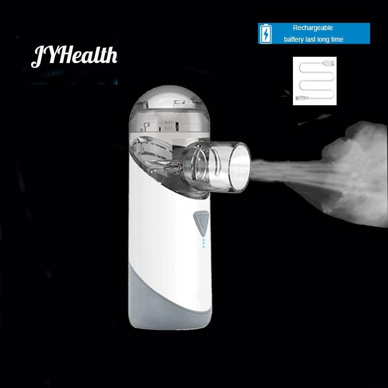 JYHealth-البخاخات الطبية المحمولة للأطفال ، جهاز استنشاق USB قابل لإعادة الشحن ، صامت ومقاوم للماء للربو