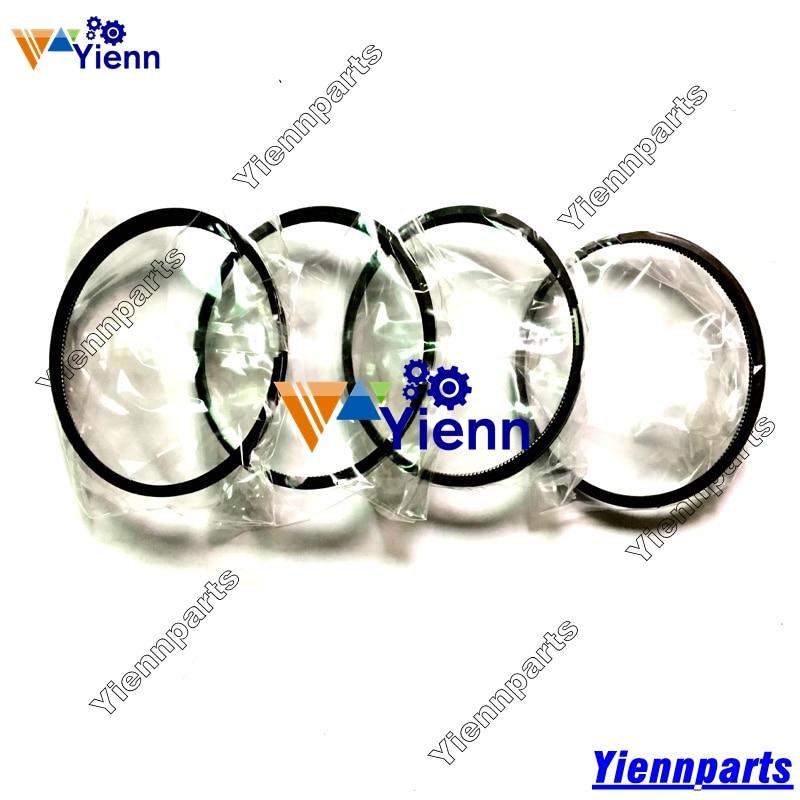 Anillo de pistón para Toyota 2J con 3 anillos o 4 anillos 88MM 13011-48030 13011-48013 para Toyota Forklift 2J piezas de reparación de motor Diesel