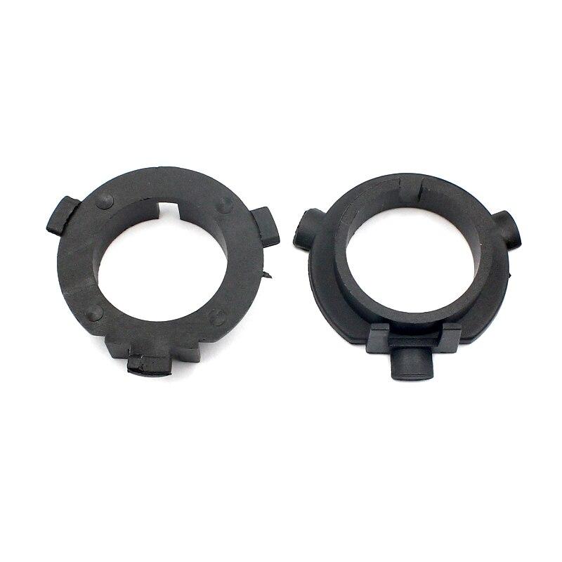 LED Head light Conversion Bulb H7 Base Holder Adapter Retainer Clips For Hyundai Veloster KIA K3 K4 K5 Sorento Sportage (2pcs)