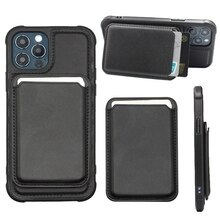 IPhone 12 Pro Max Case Magnetic Card Holder Mobile Phone Accessories Leather Magnetic Card Holder IP