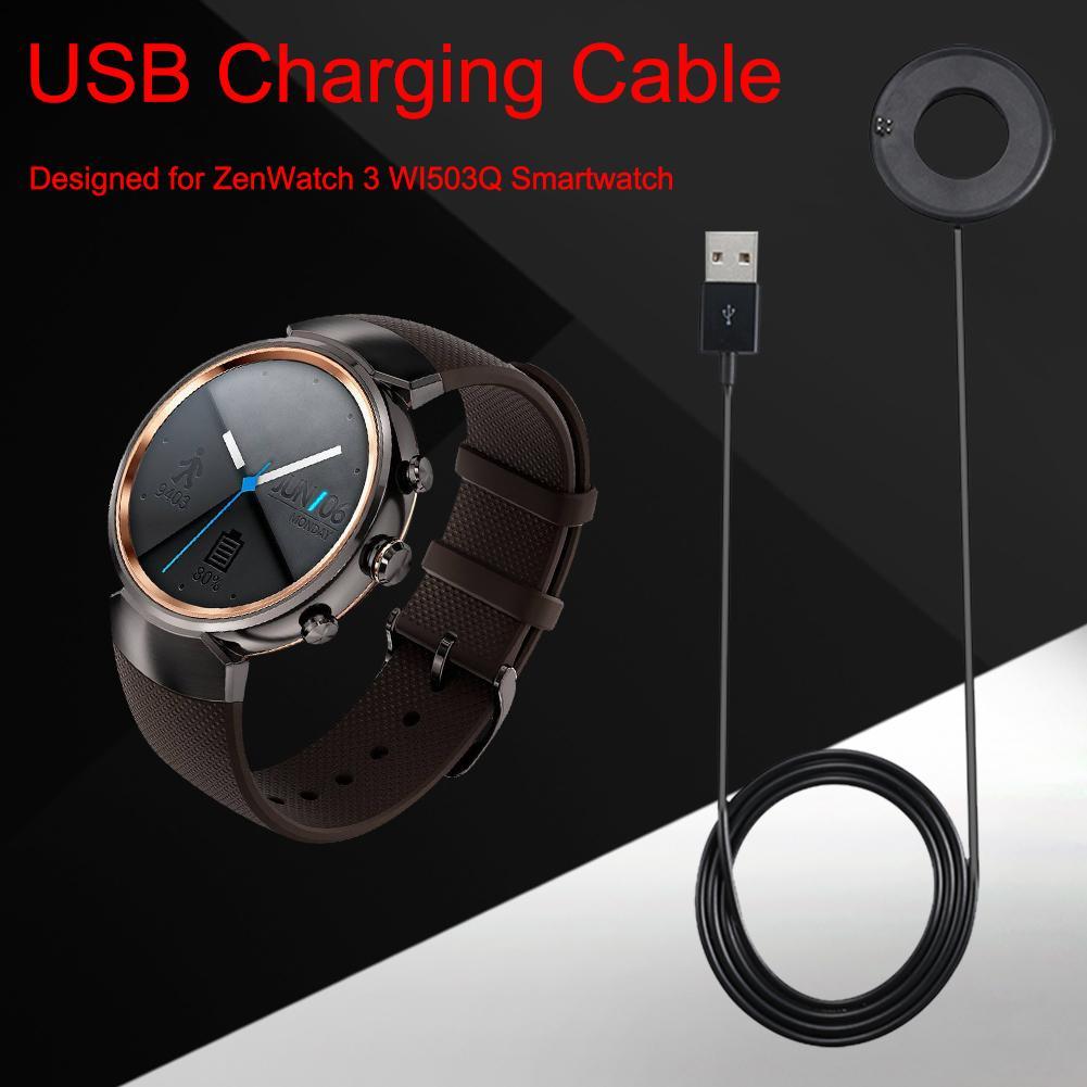 Cable cargador de reloj inteligente de 1m para ASUS ZenWatch 3 WI503Q...