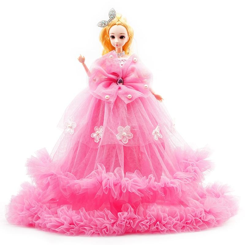 40 cm Doll Creative Wedding Princess Gift Box Set Girl Toys Baby Kids Activity Birthday Gift Wholesale Decoration New S27