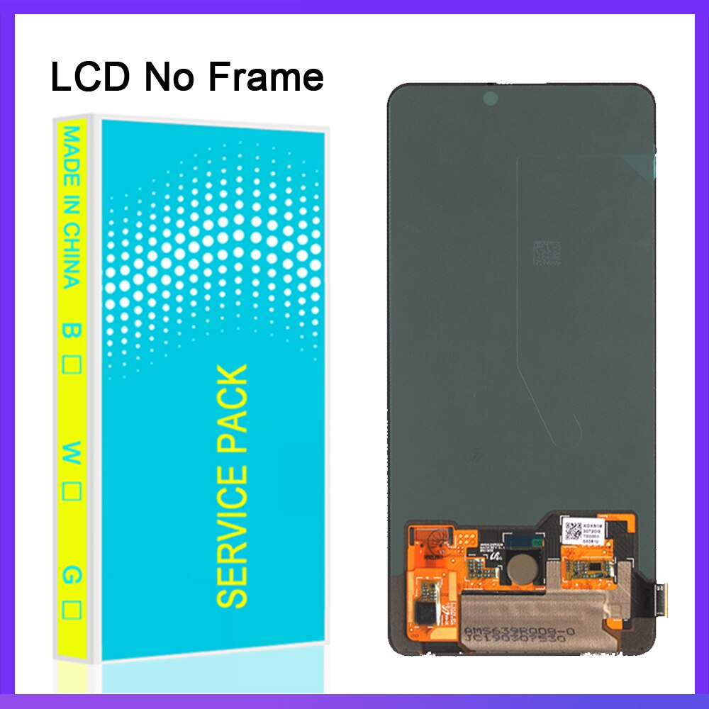 6.39'' inch AMOLED For Xiaomi Mi9T Mi 9T Pro LCD Touch Screen Digitizer Assembly LCD Display For Redmi K20 K20 Pro With Frame enlarge
