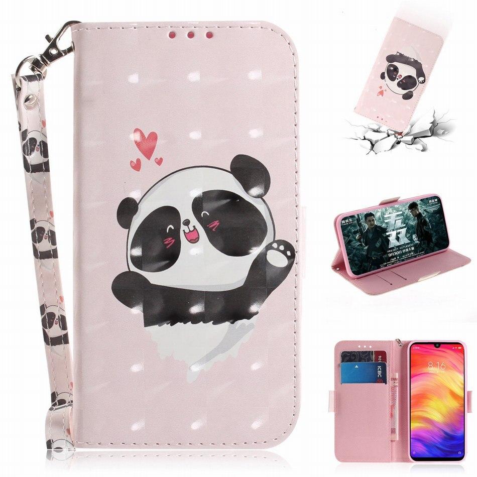Fundas de fotos de cuero PU para marco Xiaomi Poco F1 A2 6X Redmi 5 Plus 6 Pro Note 7 Y2 S2 fundas de soporte flores Animal libro Capa E26Z