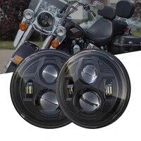 new for harley fxcw fxcwc fxs fxsb fxsbse fxst fxstb fxstc fxstd 5 75 inch 51w highlow beam spider motorcycle headlight