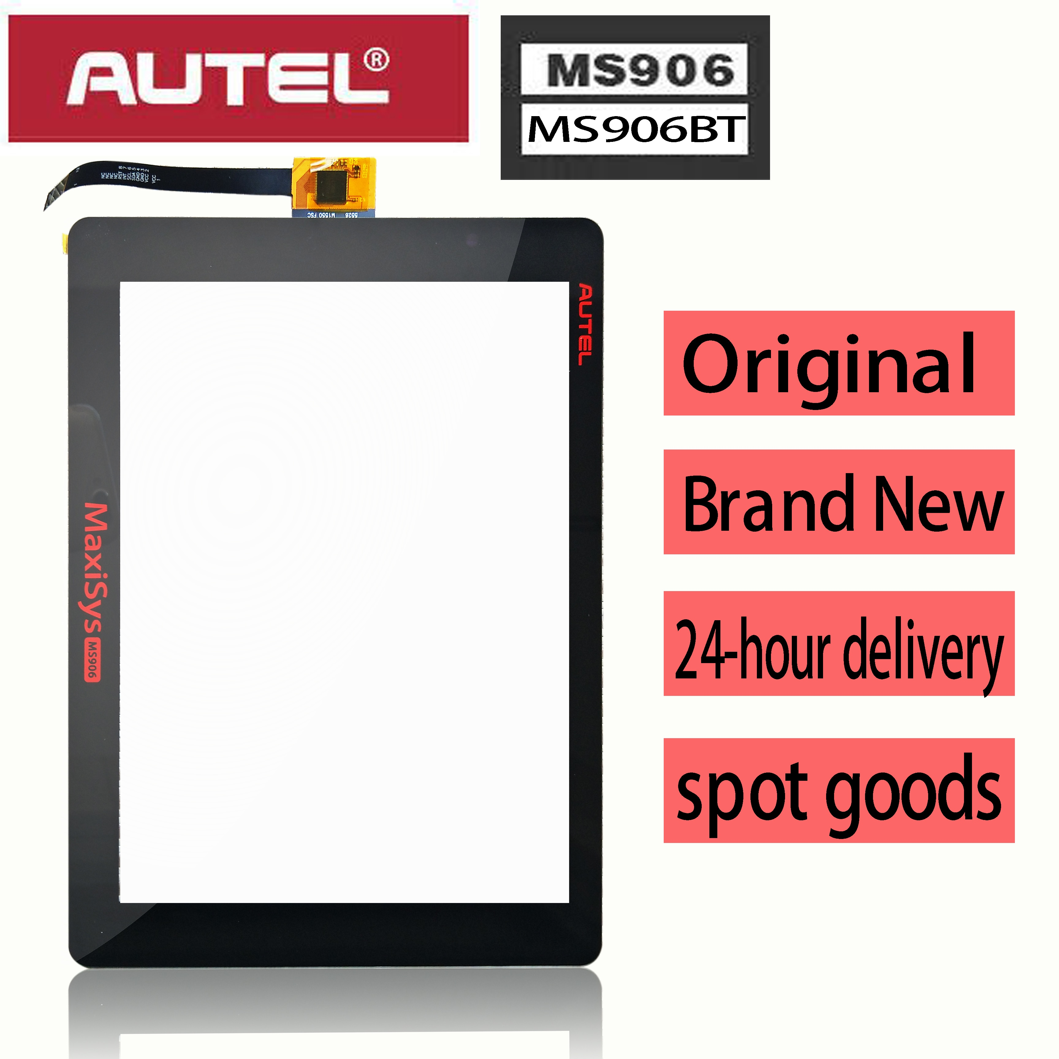 Original New Touch Screen Panel Digitizer Glass Sensor Sensor Replacement for AUTEL MaxiSYS MS906 MS906BT ms 906 Maxicom MK906